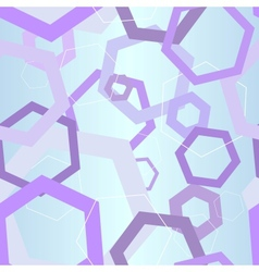 abstract hexagon hi-tech seamless background vector image