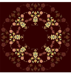 Artistic ottoman pattern series twenty three vector