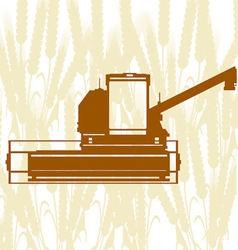 Combine Harvester 3 vector