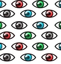 Eyes seamless vector image