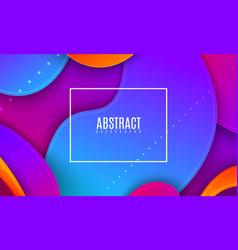 futuristic bright vector image