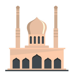 Mosque icon flat style vector