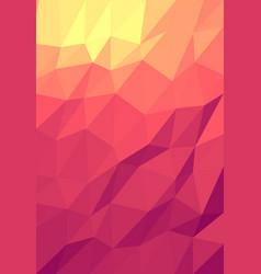 Polygonal pattern vector