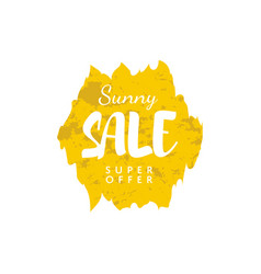 special offer sale tag vector image
