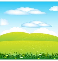 Year landscape vector image vector image