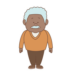 man character adult standing person male vector image