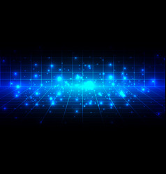 abstract technolgy background design vector image vector image