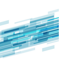 Blue abstract tech futuristic corporate stripes vector