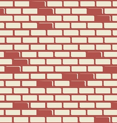 Brick wall - background vector