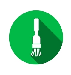 Brush icon Paint-brush painting brush Work job vector image
