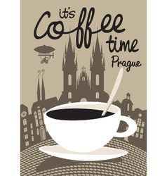 Coffee Pprague vector