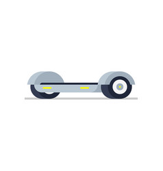 electric hoverboard vector image