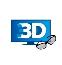 Logo stereoscopy vector