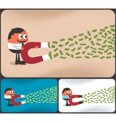 Money Magnet vector