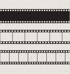 old 35mm film strip vector image