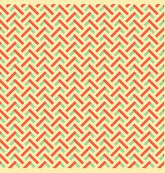 retro colors zig zag seamless background vector image