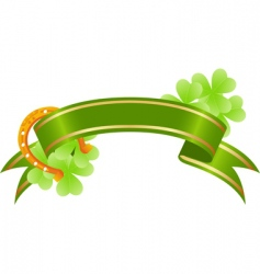 St Patrick's Day banner vector image
