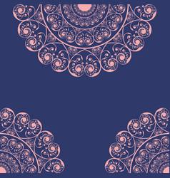 wedding invitation card design vector image