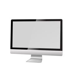 modern computer vector image vector image