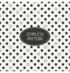 Geometric seamless stars pattern Wrapping paper vector image