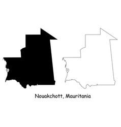 1112 nouakchott mauritania vector image
