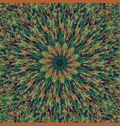 Abstract dynamic circular tile mosaic background vector
