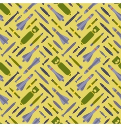 Air bobms seamless pattern vector image