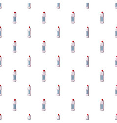 Plastic bottle of detergent pattern vector
