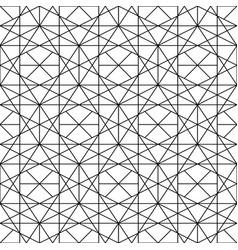 Seamless ornamental pattern - geometric vector