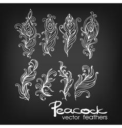 Set of Vintage Hand-Sketched ElementsOrnate vector image