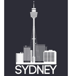 Sydney city banner vector image