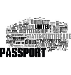Who needs a passport text word cloud concept vector