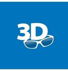 logo stereoscopy vector image vector image