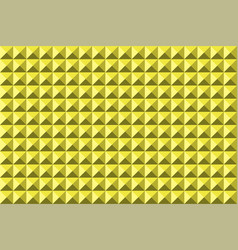 abstract pyramidas background seamless yellow vector image