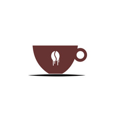 Abstract sign cafe template cafeteria and vector