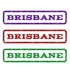 Brisbane watermark stamp vector