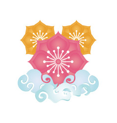 Chinese element classic chinese ornament vector