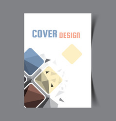 cover design template6 vector image