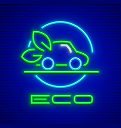 ecological car preservation vector image