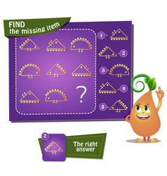 Find the missing item hedgehog vector