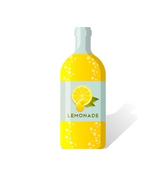 Lemonade bottle vector image