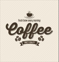 Retro vintage coffee design background 0009 vector