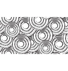seamless black and white texture with grunge vector image