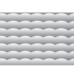 seamless background Gray gradient wave vector image vector image