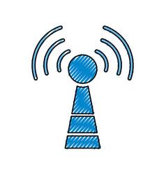 Wifi antenna symbol vector