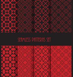 Endless oriental ornament repeatable geometric vector