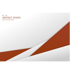Abstract luxury orange premium template design vector