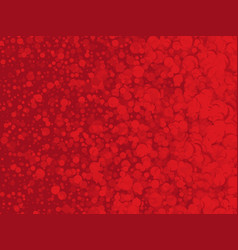 abstract red background with dots vector image