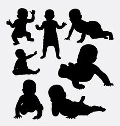 Bacute silhouette vector