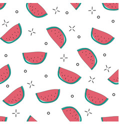 Bright colorful seamless pattern with vector